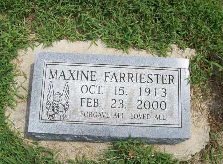 FARRIESTER, MAXINE - Benton County, Arkansas | MAXINE FARRIESTER - Arkansas Gravestone Photos