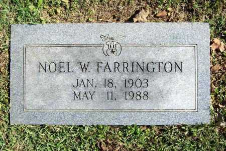 FARRINGTON, NOEL W. - Benton County, Arkansas | NOEL W. FARRINGTON - Arkansas Gravestone Photos