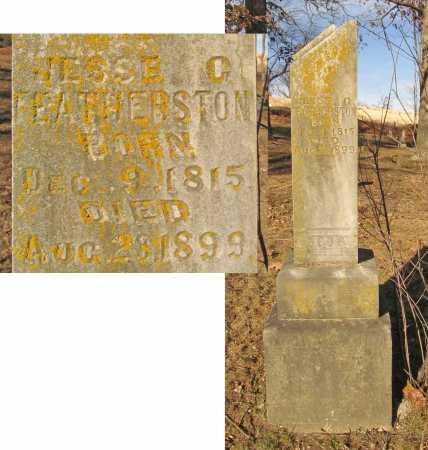 FEATHERSTON, JESSE G. - Benton County, Arkansas   JESSE G. FEATHERSTON - Arkansas Gravestone Photos