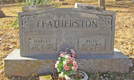 FEATHERSTON, HARLEY - Benton County, Arkansas | HARLEY FEATHERSTON - Arkansas Gravestone Photos