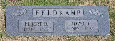 FELDKAMP, HUBERT D - Benton County, Arkansas | HUBERT D FELDKAMP - Arkansas Gravestone Photos