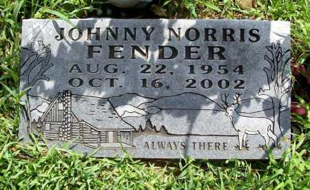 FENDER, JOHNNY NORRIS - Benton County, Arkansas | JOHNNY NORRIS FENDER - Arkansas Gravestone Photos