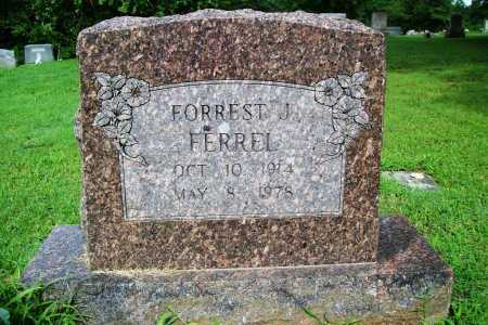 FERREL, FORREST J. - Benton County, Arkansas | FORREST J. FERREL - Arkansas Gravestone Photos