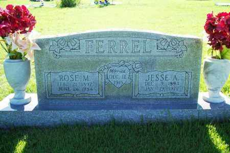 FERREL, JESSE A. - Benton County, Arkansas | JESSE A. FERREL - Arkansas Gravestone Photos