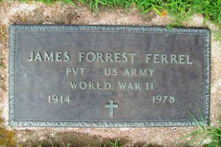 FERREL (VETERAN WWII), JAMES FORREST - Benton County, Arkansas | JAMES FORREST FERREL (VETERAN WWII) - Arkansas Gravestone Photos