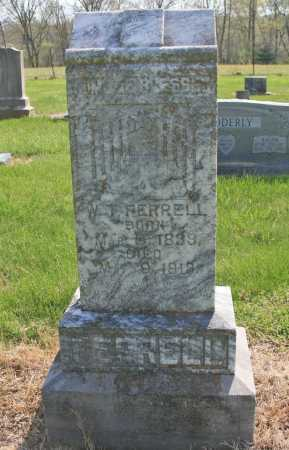 FERRELL, WILLIAM THOMAS - Benton County, Arkansas | WILLIAM THOMAS FERRELL - Arkansas Gravestone Photos