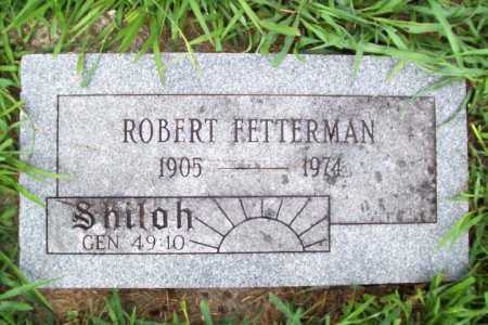 FETTERMAN, ROBERT - Benton County, Arkansas   ROBERT FETTERMAN - Arkansas Gravestone Photos