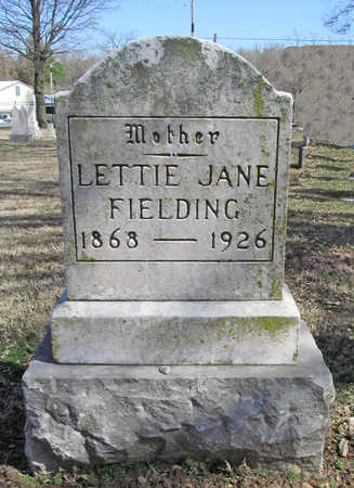 "FIELDING, LETISHA JANE ""LETTIE"" - Benton County, Arkansas 
