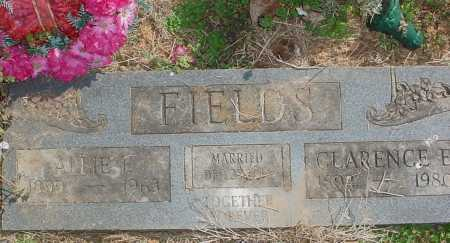"POLLOCK FIELDS, ALICE FLORENCE ""ALLIE"" - Benton County, Arkansas 