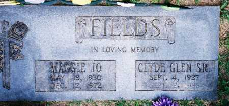 FIELDS, CLYDE GLEN SR - Benton County, Arkansas | CLYDE GLEN SR FIELDS - Arkansas Gravestone Photos