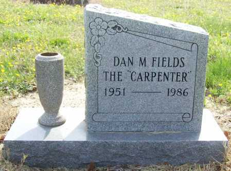 FIELDS, DAN M - Benton County, Arkansas | DAN M FIELDS - Arkansas Gravestone Photos
