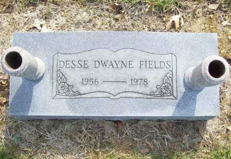 FIELDS, DESSE DWAYNE - Benton County, Arkansas | DESSE DWAYNE FIELDS - Arkansas Gravestone Photos