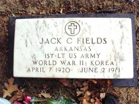 FIELDS (VETERAN 2 WARS), JACK C. - Benton County, Arkansas | JACK C. FIELDS (VETERAN 2 WARS) - Arkansas Gravestone Photos