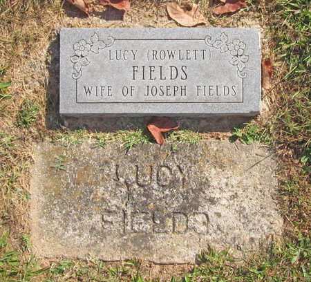ROWLETT FIELDS, LUCY S - Benton County, Arkansas | LUCY S ROWLETT FIELDS - Arkansas Gravestone Photos