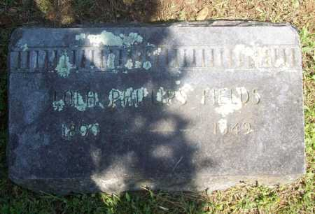 FIELDS, LOLA - Benton County, Arkansas | LOLA FIELDS - Arkansas Gravestone Photos