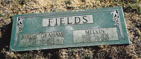 "GRAHAM FIELDS, BERTHA LOUISE ""BIRDIE"" - Benton County, Arkansas 
