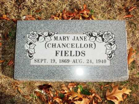 CHANCELLOR FIELDS, MARY JANE - Benton County, Arkansas | MARY JANE CHANCELLOR FIELDS - Arkansas Gravestone Photos