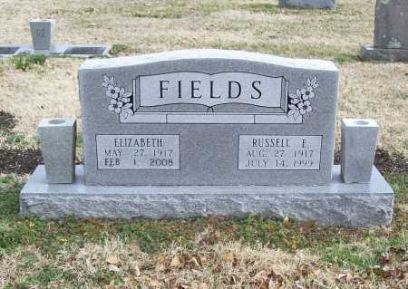 FIELDS, RUSSELL EUGENE - Benton County, Arkansas | RUSSELL EUGENE FIELDS - Arkansas Gravestone Photos