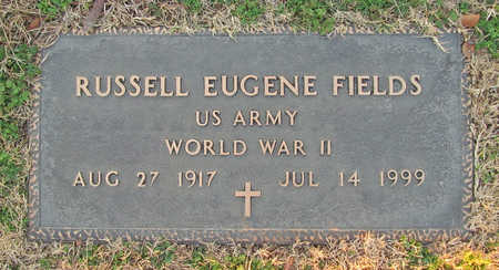 FIELDS (VETERAN WWII), RUSSELL EUGENE - Benton County, Arkansas | RUSSELL EUGENE FIELDS (VETERAN WWII) - Arkansas Gravestone Photos