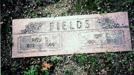 FIELDS, ROY DELBERT - Benton County, Arkansas | ROY DELBERT FIELDS - Arkansas Gravestone Photos