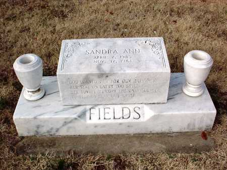 FIELDS, SANDRA ANN - Benton County, Arkansas | SANDRA ANN FIELDS - Arkansas Gravestone Photos