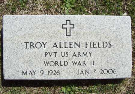 FIELDS (VETERAN WWII), TROY ALLEN - Benton County, Arkansas | TROY ALLEN FIELDS (VETERAN WWII) - Arkansas Gravestone Photos