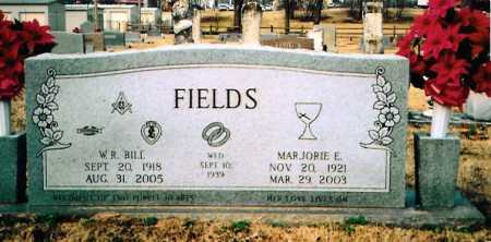 FIELDS, MARJORIE ELIZABETH - Benton County, Arkansas | MARJORIE ELIZABETH FIELDS - Arkansas Gravestone Photos