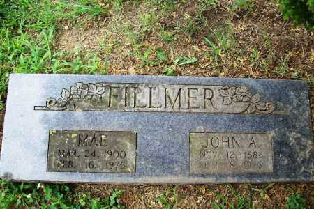 FILLMER, JOHN A. - Benton County, Arkansas | JOHN A. FILLMER - Arkansas Gravestone Photos