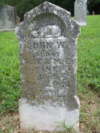 FINE, JOHN W. - Benton County, Arkansas | JOHN W. FINE - Arkansas Gravestone Photos