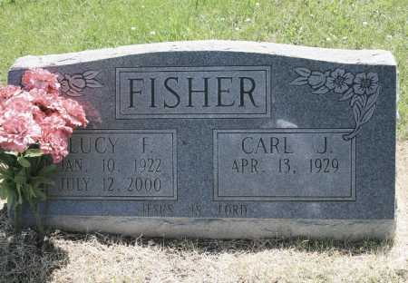 FISHER, LUCY F. - Benton County, Arkansas | LUCY F. FISHER - Arkansas Gravestone Photos