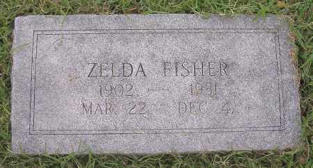 FISHER, ZELDA - Benton County, Arkansas | ZELDA FISHER - Arkansas Gravestone Photos