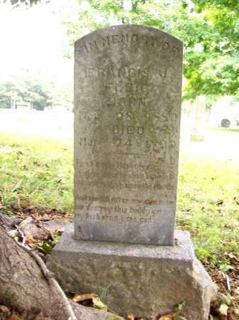 FLEIG, FRANCIS J. - Benton County, Arkansas | FRANCIS J. FLEIG - Arkansas Gravestone Photos
