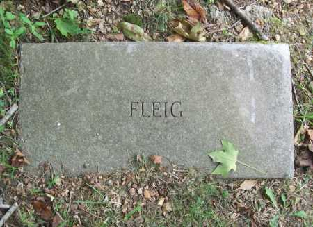 FLEIG, UNKNOWN - Benton County, Arkansas | UNKNOWN FLEIG - Arkansas Gravestone Photos
