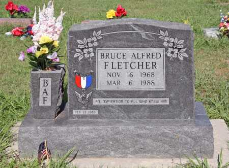 FLETCHER, BRUCE ALFRED - Benton County, Arkansas | BRUCE ALFRED FLETCHER - Arkansas Gravestone Photos