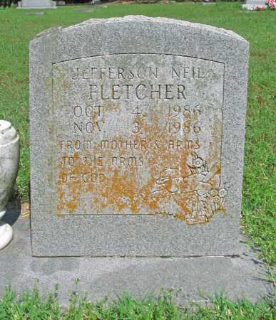 FLETCHER, JEFFERSON NEIL - Benton County, Arkansas | JEFFERSON NEIL FLETCHER - Arkansas Gravestone Photos