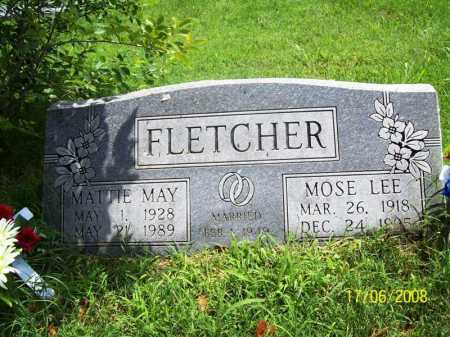 FLETCHER, MOSE LEE - Benton County, Arkansas | MOSE LEE FLETCHER - Arkansas Gravestone Photos