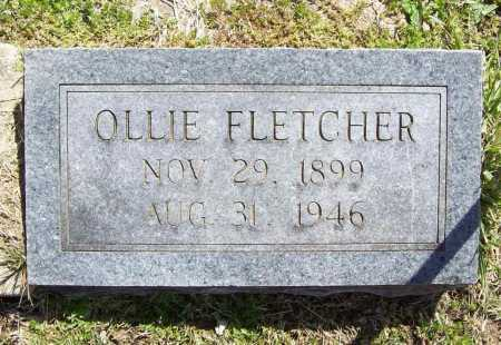 FLETCHER, OLLIE - Benton County, Arkansas | OLLIE FLETCHER - Arkansas Gravestone Photos