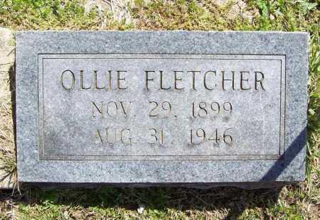 FLETCHER, OLLIE - Benton County, Arkansas | OLLIE FLETCHER - Arkansas Gravestone Photos