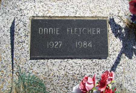 FLETCHER, ONNIE - Benton County, Arkansas | ONNIE FLETCHER - Arkansas Gravestone Photos