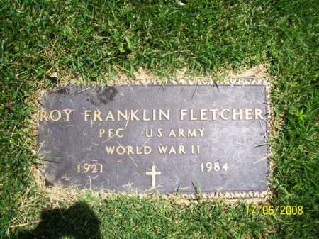 FLETCHER (VETERAN WWII), ROY FRANKLIN - Benton County, Arkansas | ROY FRANKLIN FLETCHER (VETERAN WWII) - Arkansas Gravestone Photos