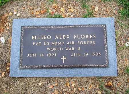FLORES (VETERAN WWII), ELISEO ALEX - Benton County, Arkansas | ELISEO ALEX FLORES (VETERAN WWII) - Arkansas Gravestone Photos