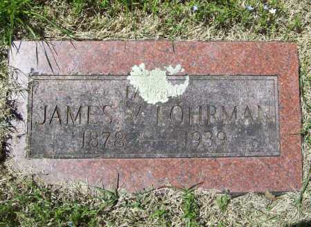 FOHRMAN, JAMES V. - Benton County, Arkansas | JAMES V. FOHRMAN - Arkansas Gravestone Photos