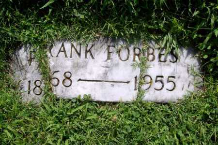 FORBES, FRANK - Benton County, Arkansas | FRANK FORBES - Arkansas Gravestone Photos
