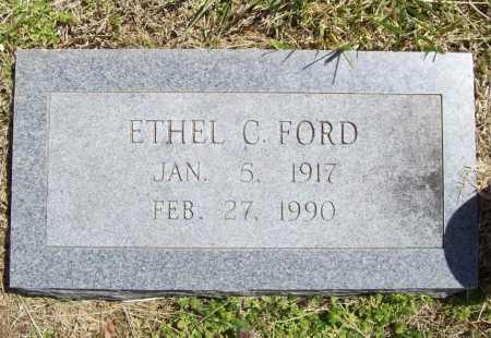 FORD, ETHEL C. - Benton County, Arkansas | ETHEL C. FORD - Arkansas Gravestone Photos