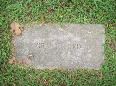 FORD, GRANT - Benton County, Arkansas | GRANT FORD - Arkansas Gravestone Photos