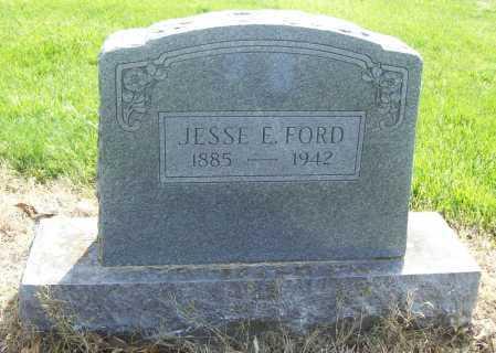 FORD, JESSE E. - Benton County, Arkansas | JESSE E. FORD - Arkansas Gravestone Photos