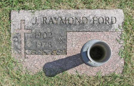 FORD, J. RAYMOND - Benton County, Arkansas   J. RAYMOND FORD - Arkansas Gravestone Photos