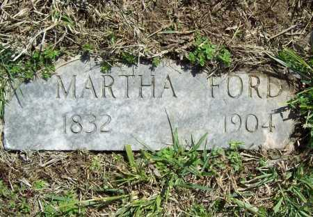 FORD, MARTHA - Benton County, Arkansas | MARTHA FORD - Arkansas Gravestone Photos