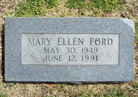 FORD, MARY ELLEN - Benton County, Arkansas | MARY ELLEN FORD - Arkansas Gravestone Photos