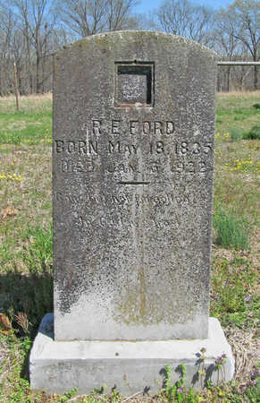 FORD, RICHARD E - Benton County, Arkansas | RICHARD E FORD - Arkansas Gravestone Photos